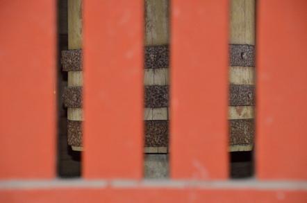 五重塔 心柱
