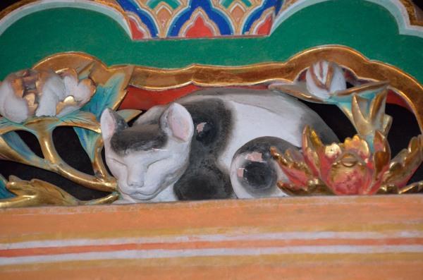 日光東照宮 国宝 眠猫