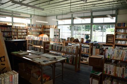 旧木沢小学校 図書室