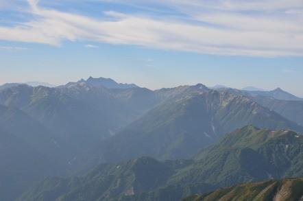 雄山山頂からの眺め