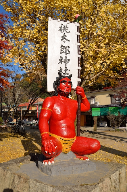 桃太郎神社 鬼