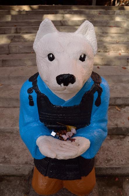 桃太郎神社 犬