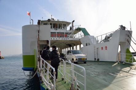 忠海港 フェリー