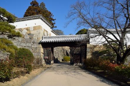 いの門 姫路城