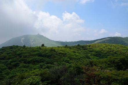 国見岳 山頂