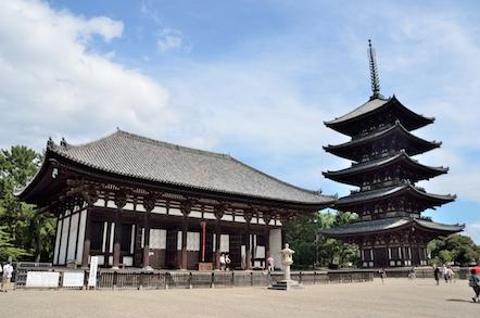 興福寺 東金堂 五重塔