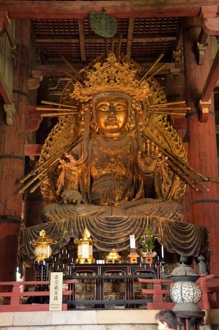 東大寺 金堂 虚空蔵菩薩坐像