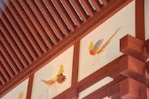 小壁彩色 朱雀