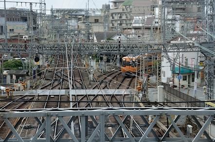 大和西大寺駅 展望デッキ