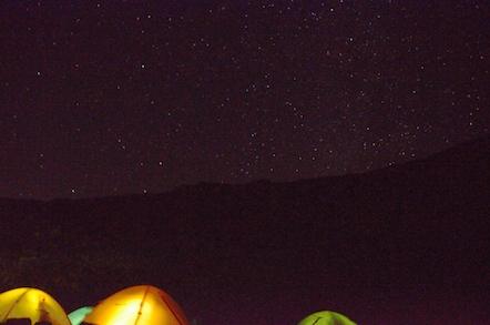 白馬岳頂上宿舎 テント場