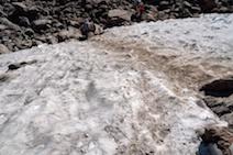白馬乗鞍岳 雪渓