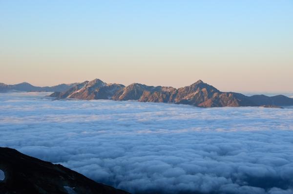 剱岳 立山三山