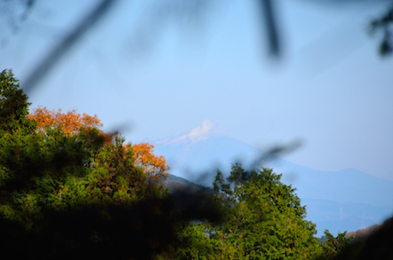 猿投山 登山道 御嶽山