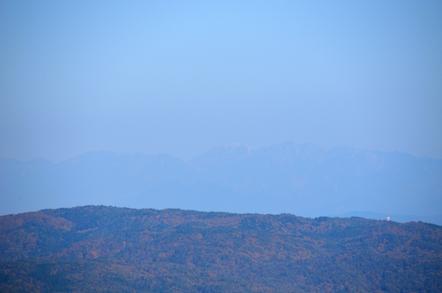 猿投山 登山道 中央アルプス