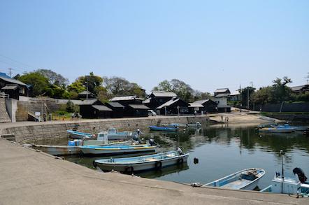 佐久島西港