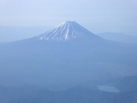 ANA361便 富士山