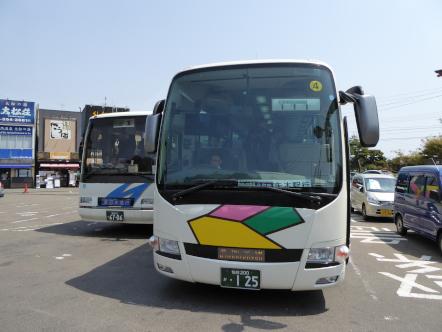 仙石線 松島海岸駅 代行バス