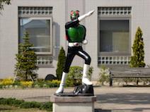 石巻市 仮面ライダー