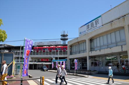 名鉄 津島駅