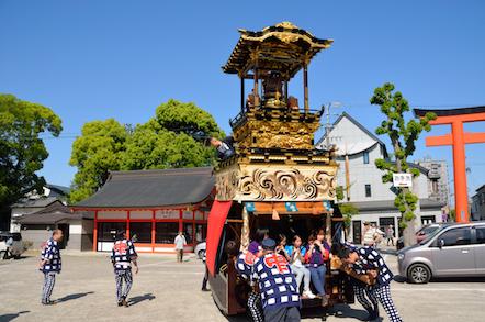 津島神社 山車 上町