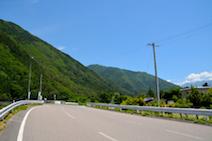 阿寺渓谷 入口 木曽川