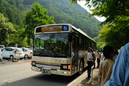 木曽駒ヶ岳 登山 黒川平 バス停