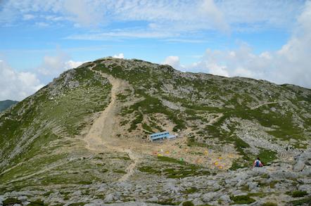 木曽駒ヶ岳 頂上山荘