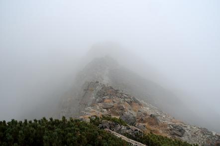 奥穂高岳 吊尾根 前穂高岳