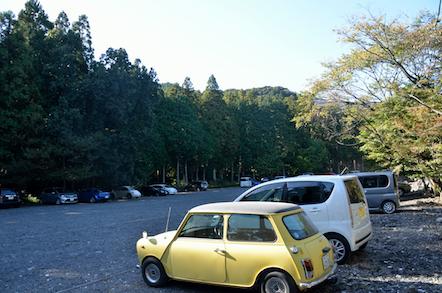 椿大神社 登山者用駐車場