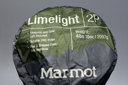 マーモット Limelight 2P