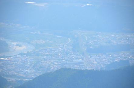 田立の滝 不動岩展望台