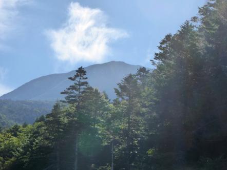 御嶽山 小坂口ルート