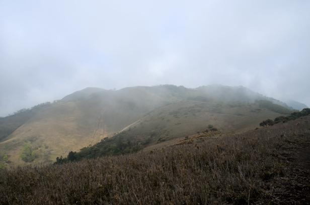 竜ヶ岳 遠足尾根