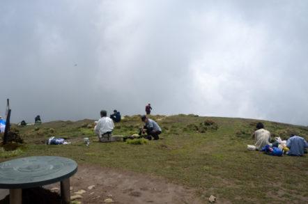 竜ヶ岳 山頂