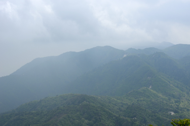 竜ヶ岳 表道登山道 釈迦ヶ岳