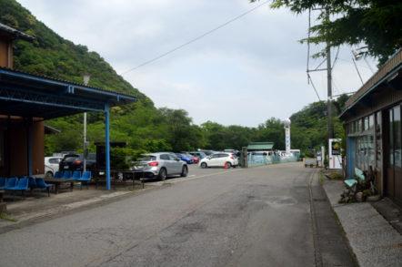 宇賀渓案内所 駐車場