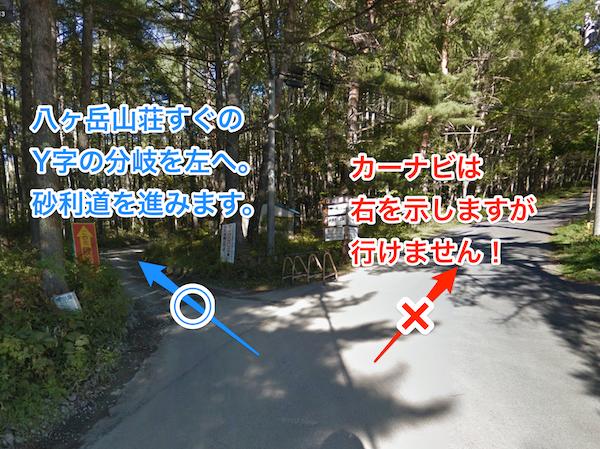 やまのこ村までのルート