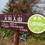 大川入山 山頂