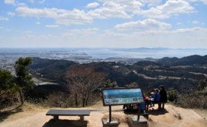 宮路山 山頂からの眺め