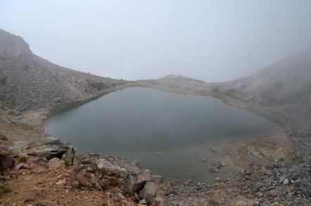 白山 お池巡り 翠ヶ池