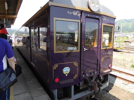三陸鉄道南リアス線 盛駅 レトロ列車