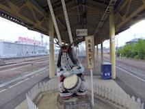 花巻駅 花巻鹿踊