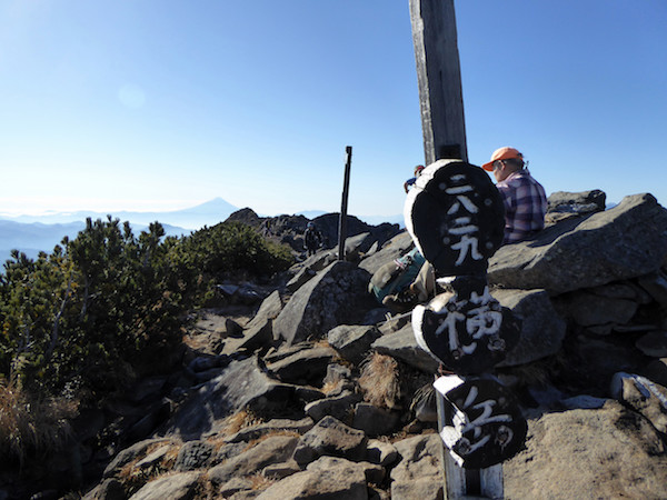 横岳 山頂