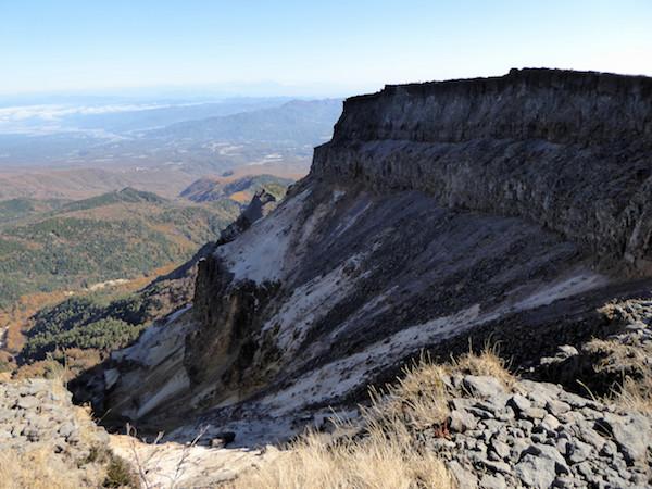 硫黄岳 爆裂火口