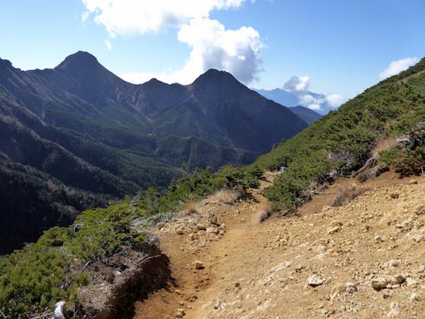 赤岩の頭 〜 赤岳鉱泉