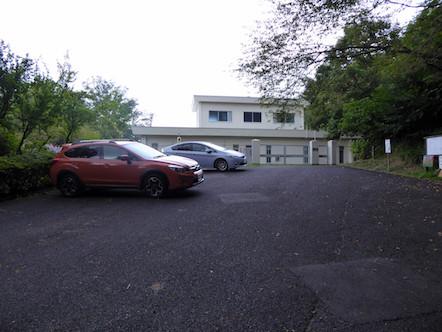 八木山低区配水池 駐車場