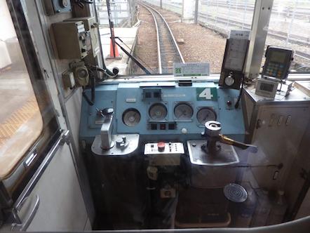 三岐鉄道北勢線 運転台