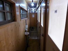 燕山荘 トイレ