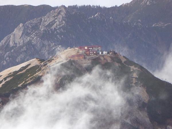 大天荘 燕岳方面
