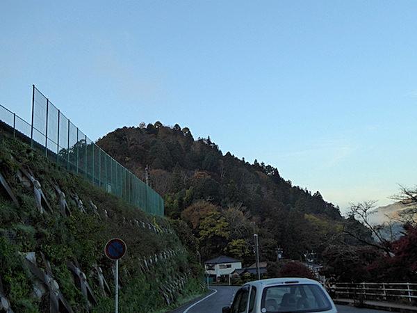 香嵐渓 飯盛山